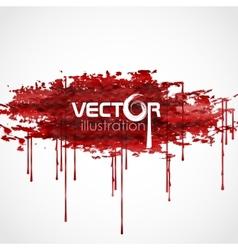 Bloody Watercolor Spots vector