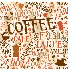 Coffee tile vector