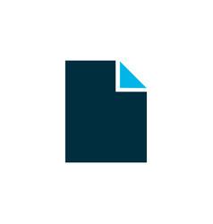 File icon colored symbol premium quality isolated vector