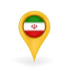 Location Iran vector