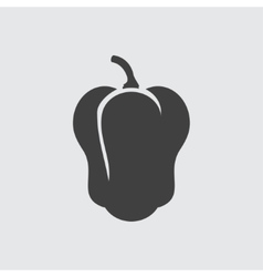 Pepper icon vector image