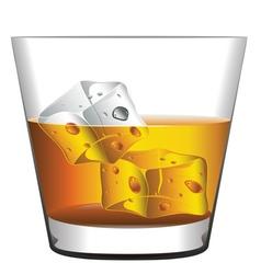 Whiskey Glass vector