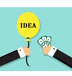 profitable exchange business vector image