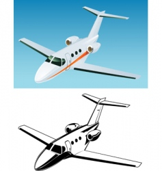 cessna vector image vector image
