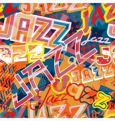 Jazz seamless tile vector