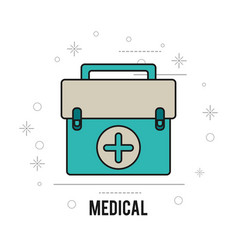 Medical equipment first aid health care vector