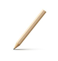Pencil school isolated wood vector