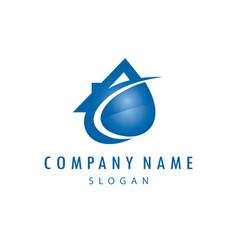 Plumber company logo vector