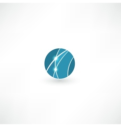 Business abstract icon vector image vector image
