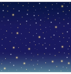 Background simulating the winter night sky vector