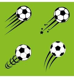 ball of soccer sport design vector image