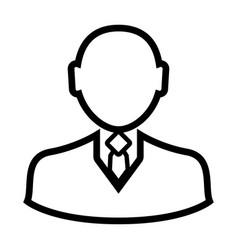 businessman icon image vector image