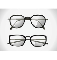 Glasses designs vector
