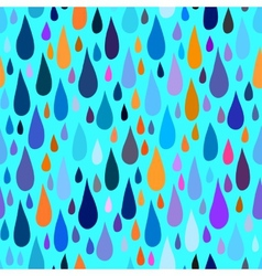 Pattern with water or paint drops vector
