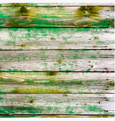 Peeled wooden planks vector