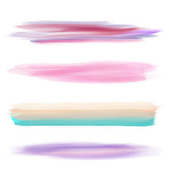 collection of watercolour brushes vector image