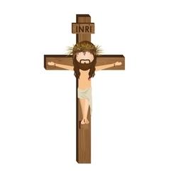 Avatar crucifixion jesus christ vector