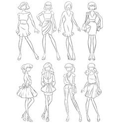 Fashion vector image