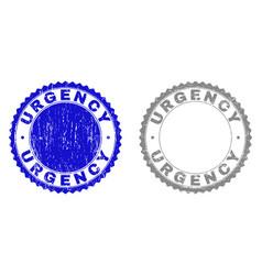 Grunge urgency scratched watermarks vector