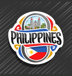 Logo for philippines vector