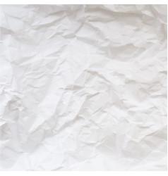 Texture of crumpled paper vector