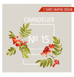 Vintage Autumn Graphic Design for T-shirt Fashion vector