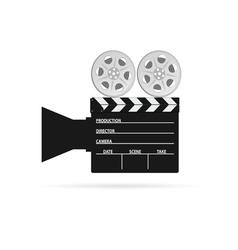 film camera tape black vector image vector image