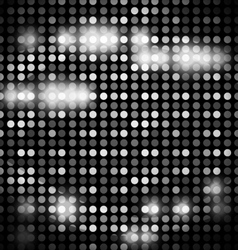 Abstract background - metal club mosaic vector