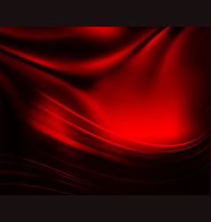 Dark red background with smooth gentle lines like vector