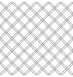 Diagonal check plaid seamless pattern vector