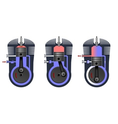 Engine vector