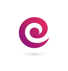 letter c e logo icon design template elements vector image