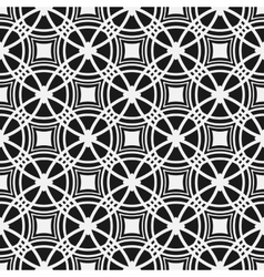 Monochrome seamless pattern Geometric simple vector