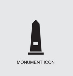 Monument icon vector