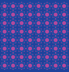 seamless pattern blue and pink background vector image
