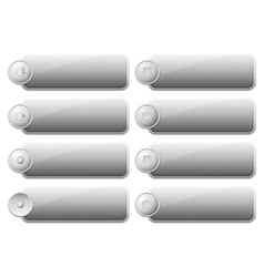 Set of Internet Buttons vector image