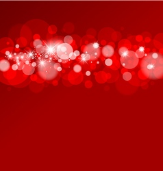 abstract background of bokeh vector image vector image