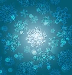Snowflake Pattern Snowflake texture Christmas and vector image