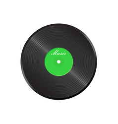Vinyl disk music disk sound record vector