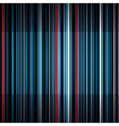Abstract retro blue and red stripes background vector image
