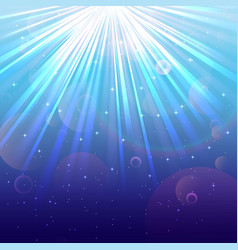 Blue Lights background vector image