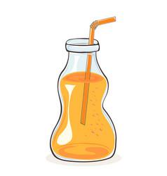 Bottle drink vector