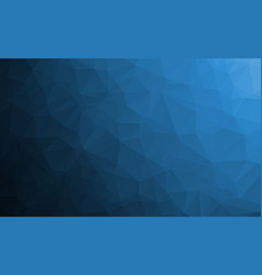 Dark blue abstract textured polygonal background vector