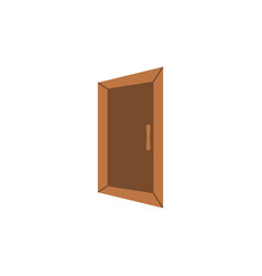 door icon graphic design template isolated vector image