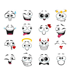 Face expression isolated feelings icons set vector