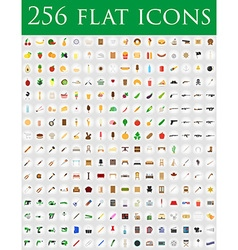 Flat icons 01 vector