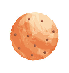 homemade pastries with a crisp freshly baked vector image