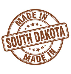 Made in south dakota vector