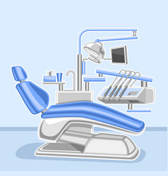 Poster for dental clinic vector