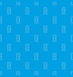 sharpener pattern seamless blue vector image